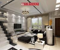 天门东湖国际别墅客厅