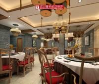天门活鱼馆一楼小宴会厅